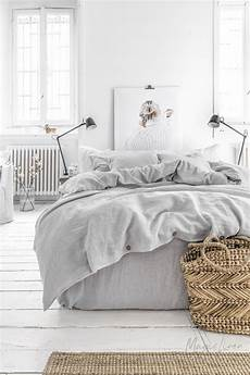 Light Grey Textured Duvet Cover Light Grey Linen Duvet Cover Magiclinen