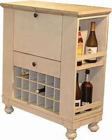 nantucket antique white spirit cabinet from eci furniture