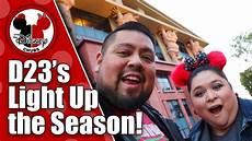 Light Up The Season With D23 Christmas At Disney Studios D23 Light Up The Season 2018