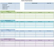 Itinerary Planner Template Free 9 Useful Travel Itinerary Templates That Are 100 Free