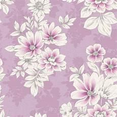 Flower Wallpaper Metallic by Flower Wallpaper Floral Pattern Modern Metallic Pink Lilac