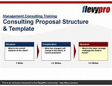 Management Consulting Proposal Consulting Proposal Structure Amp Template Powerpoint