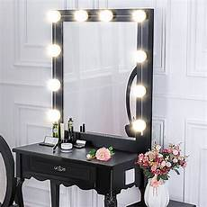 Makeup Vanity With Lights Makeup Mirror Led Lights 10 Hollywood Vanity Light Bulbs