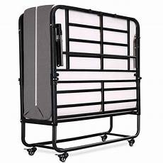 smile back folding bed rollaway bed with mattress for