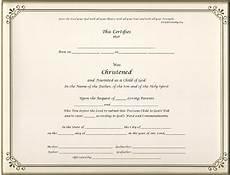 Christening Certificate Keepsake Christening 8 5 X 11 Inch Certificate Gold