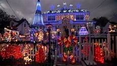 James Center Lighting 2018 Families With The Best Christmas Light Displays Youtube