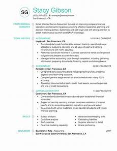 Accountant Resume Sample Use Our Accounting Resume Examples To Jumpstart Yours