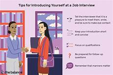 How To Introduce Yourself In An Interview How To Introduce Yourself At A Job Interview