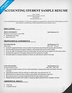 Resume Format Accountant Accountant Resume Sample Sample Resumes