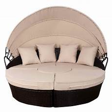 topbuy outdoor patio sofa daybed wicker rattan