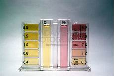 Swimming Pool Test Chart Science Chemistry Acid Base Indicator Phenol Red