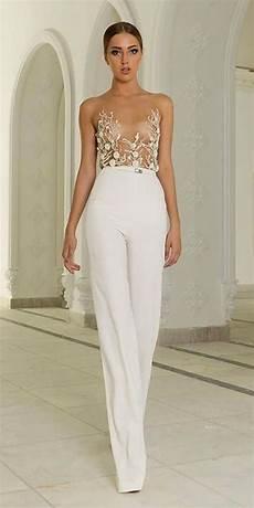 trend 2019 27 wedding pantsuit jumpsuit ideas she she