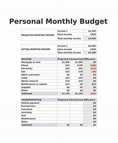 Example Budget Free 10 Sample Budget Spreadsheets In Excel Ms Word Pdf