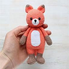 cuddle me fox amigurumi pattern amigurumi today