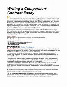Comparison And Contrast Essay Introduction Examples 12 Compare And Contrast Paragraph Examples Radaircars Com