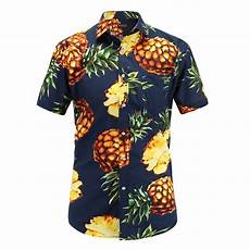 sleeve hawaiian shirt 2018 fashion regular fit mens cotton sleeve hawaiian