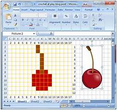 How To Make A Crochet Pattern Chart Crochet Parfait Making Your Own Crochet Or Knitting Charts