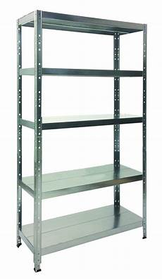 ripiani per scaffali metallici scaffale in metallo quot maciste quot universale 100x40x200h cm