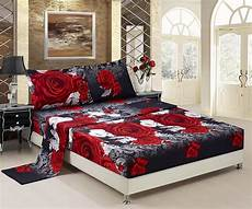 Size Sofa Bed Sheets 3d Image by 3d Bed Sheet Set 4 3d And White