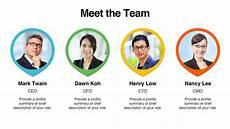 Team Templates Download Team Member Templates Presomakeover