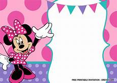 Printable Minnie Mouse Invitations Free 30 Free Printable Minnie Mouse Birthday Invitation