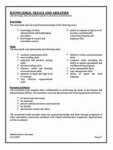 Administrative Clerk Duties Administrative Assistant Job Description Resume With