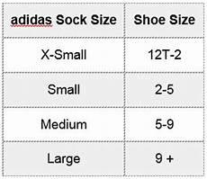 Adidas Crew Socks Size Chart Adidas Socks Size Chart Amulette
