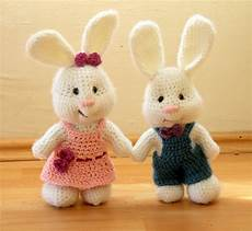 amigurumi coppia di coniglietti free pattern amigurumi