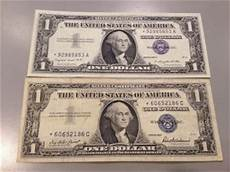 Silver Certificate Dollar Bill Value Chart Paper Money Us Small Size Notes Price And Value Guide