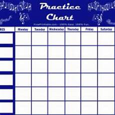 Practice Charts For Music Students Practice Tip Use A Practice Un Chart Instead Of A