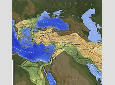Maps   The byzantine Empire