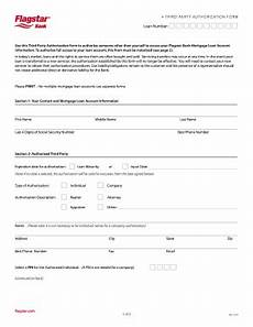 Blank 3rd Party Authorization Form Flagstar Third Party Authorization Fill Online