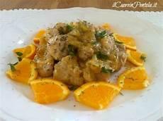 cucinare il cuore di maiale bocconcini di maiale all arancia ricette il cuore in pentola