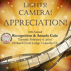 Lights Camera Appreciation 2018 Awards Gala Afwpi Sacramento Community