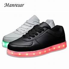 Mens Size 11 Light Up Shoes Big Size Led Shoes Size 11 Usb Glowing Shoes For Sales Men