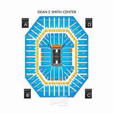 Dean E Smith Center Seating Chart Rows Dean Smith Center Tickets Dean Smith Center Seating
