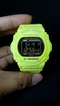 G Shock Light Button G Shock 25th Anniversary Green Lime Lumines Gold Button