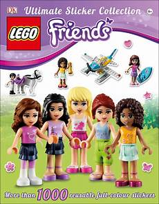 lego 174 friends ultimate sticker collection by dk penguin