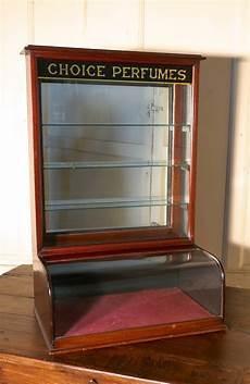mahogany chemist s perfume shop display cabinet