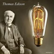 Thomas Edison Light Bulb Squirrel Cage Tip Thomas Edison Light Bulbs 6pcs Antique