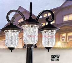Led Outdoor Post Light Fixtures New Innova Lighting 3 Light Outdoor Led Lamp Post Lantern
