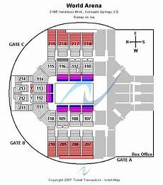 World Arena Detailed Seating Chart World Arena Tickets And World Arena Seating Chart Buy