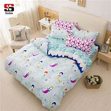 sookie pink bedding sets for mermaid and scales