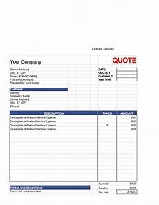 How To Create An Estimate Write An Estimate Estimate Template Writing Templates