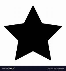 Star Vectors Free Star Solid Icon Pentagonal Star Royalty Free Vector Image