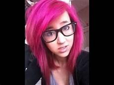 hair pink bright pink hair