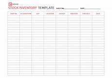 Inventory Sample Excel Excel Inventory Template Free Sample Example Format In