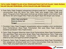 contoh cap faktur pajak pengganti contoh two