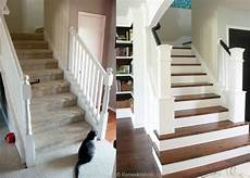 remodelaholic entry and staircase makeover reveal
