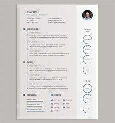 Designer Cv Template 20 Best Free Resume Cv Templates In Ai Indesign Amp Psd